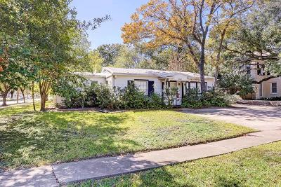 Single Family Home For Sale: 6500 Greenbriar Drive