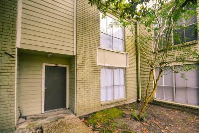 Houston Condo/Townhouse For Sale: 6200 W Tidwell Road #1709