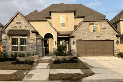 Cypress TX Single Family Home For Sale: $480,000