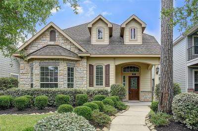 The Woodlands Single Family Home For Sale: 63 Panterra Way