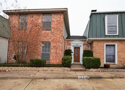 Houston TX Condo/Townhouse For Sale: $163,000