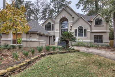 The Woodlands Single Family Home For Sale: 79 N Misty Morning Trc