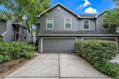 The Woodlands Condo/Townhouse For Sale: 19 Verbena Bend Place