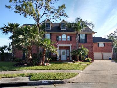 Friendswood, Pearland, League City, Alvin Single Family Home For Sale: 2400 Daytona Court