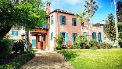 Galveston Single Family Home For Sale: 1616 Broadway Street