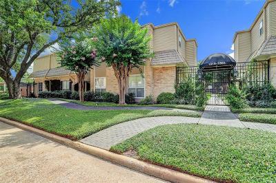 Houston Condo/Townhouse For Sale: 1835 Post Oak Park Drive
