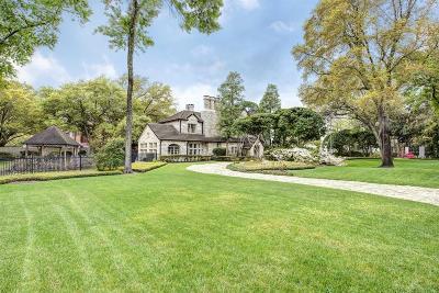 Houston Single Family Home For Sale: 3909 Del Monte Drive