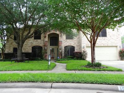 Katy Single Family Home For Sale: 1512 Whispering Pines Drive