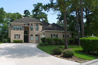 Kingwood Single Family Home For Sale: 2287 Deer Cove Trl