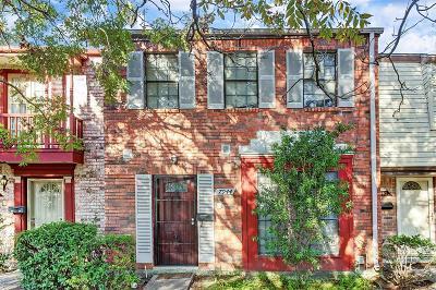 Houston Condo/Townhouse For Sale: 7944 Grove Ridge Drive