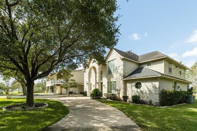 Manvel Single Family Home For Sale: 9115 Markham Road