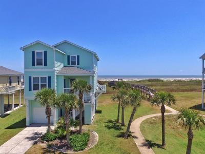 Galveston TX Single Family Home For Sale: $565,000