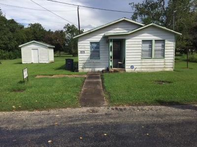 Bay City TX Single Family Home For Sale: $39,000