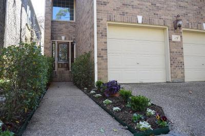 Houston Single Family Home For Sale: 12625 Memorial Drive #174