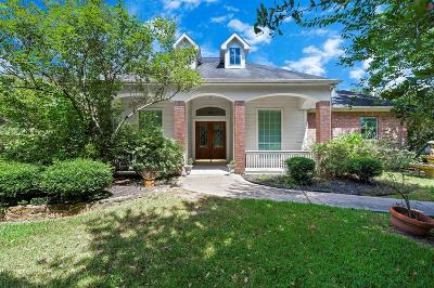 Tomball Single Family Home For Sale: 21818 W Yaupon Circle