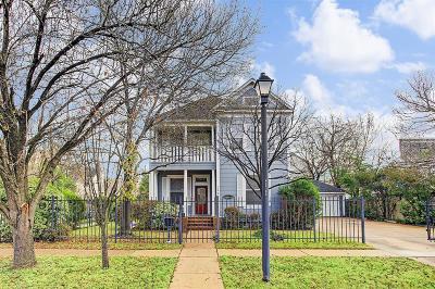 Houston Single Family Home For Sale: 344 Harvard Street