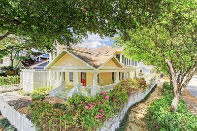 Greater Heights Single Family Home For Sale: 601 Highland Street
