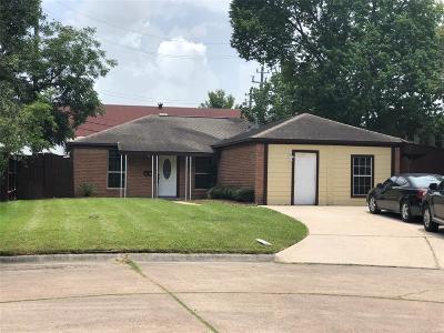 Pasadena Single Family Home For Sale: 1709 Nottingham Street