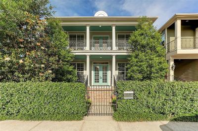 Houston Single Family Home For Sale: 820 Nicholson Street