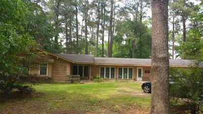 New Caney Single Family Home For Sale: 2 2 N Pines Dr
