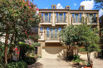 Houston Condo/Townhouse For Sale: 2111 McDuffie Street #A