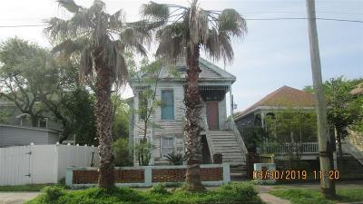 Galveston TX Multi Family Home For Sale: $130,000