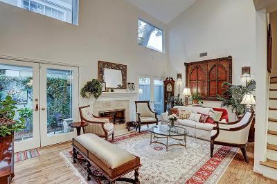 Houston TX Single Family Home For Sale: $650,000