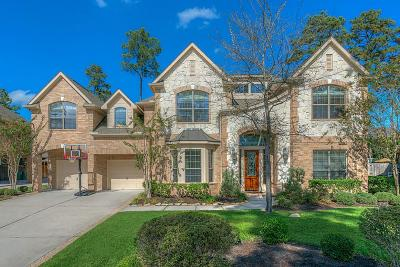 The Woodlands TX Single Family Home For Sale: $715,000