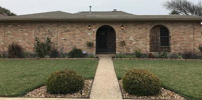 Galveston TX Single Family Home For Sale: $349,500