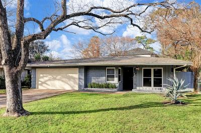 Houston Single Family Home For Sale: 7410 Dearborn Street