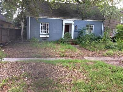 Houston Single Family Home For Sale: 2245 Shakespeare Street