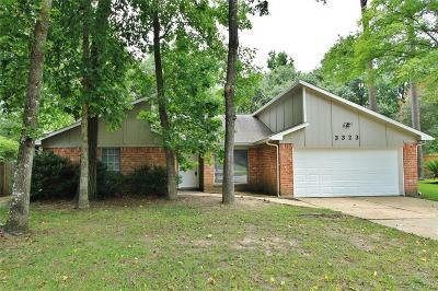 Kingwood Single Family Home For Sale: 3323 Glen Spring Drive