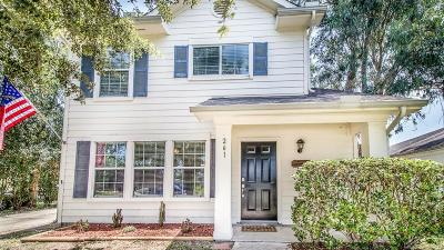 Dickinson Single Family Home For Sale: 261 Crystal Isle Drive