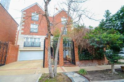 Houston Single Family Home For Sale: 2425 Kingston Street #2425