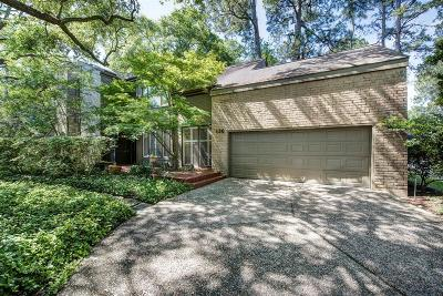 Houston Single Family Home For Sale: 136 Sugarberry Circle