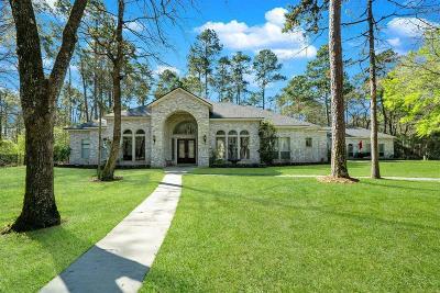 Conroe Single Family Home For Sale: 11782 White Oak Trail