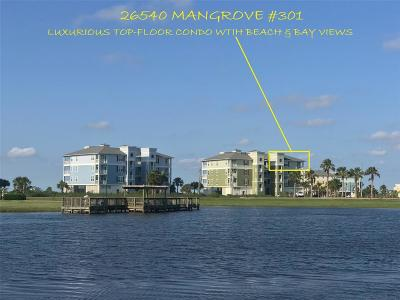 Galveston Condo/Townhouse For Sale: 26540 Mangrove Drive #301