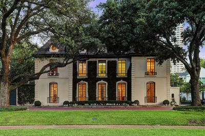 River Oaks Single Family Home For Sale: 2523 Del Monte Drive