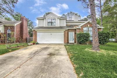 Houston TX Single Family Home For Sale: $240,000