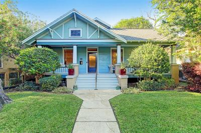 Houston Single Family Home For Sale: 227 W 18th Street