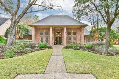 Kingwood Single Family Home For Sale: 5823 Woodland Creek Drive