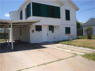 Galveston Rental For Rent: 1613 52nd Street #UP