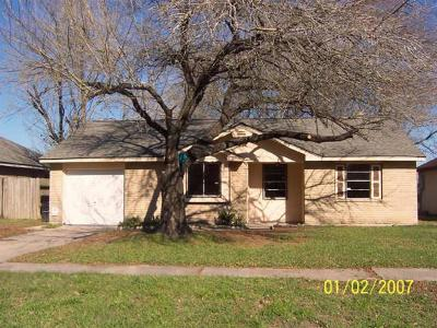 Houston TX Single Family Home For Sale: $125,000