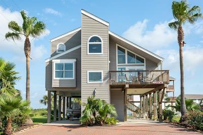 Galveston Single Family Home For Sale: 22506 Vista Del Mar