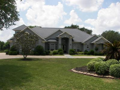 Fulshear Single Family Home For Sale: 3531 Woodbine Drive