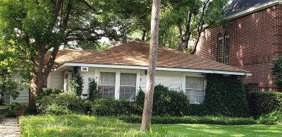 Galveston County, Harris County Single Family Home For Sale: 4916 Laurel Street