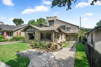 Houston Single Family Home For Sale: 811 Ridge Street