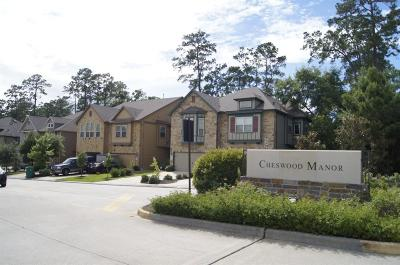 The Woodlands Condo/Townhouse For Sale: 17 Cheswood Manor Drive