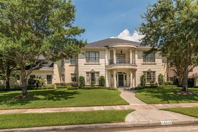 Houston Single Family Home For Sale: 14315 Golf View Trail