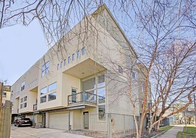 Houston Condo/Townhouse For Sale: 1517 Crockett Street